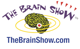 The Brain Show game logo